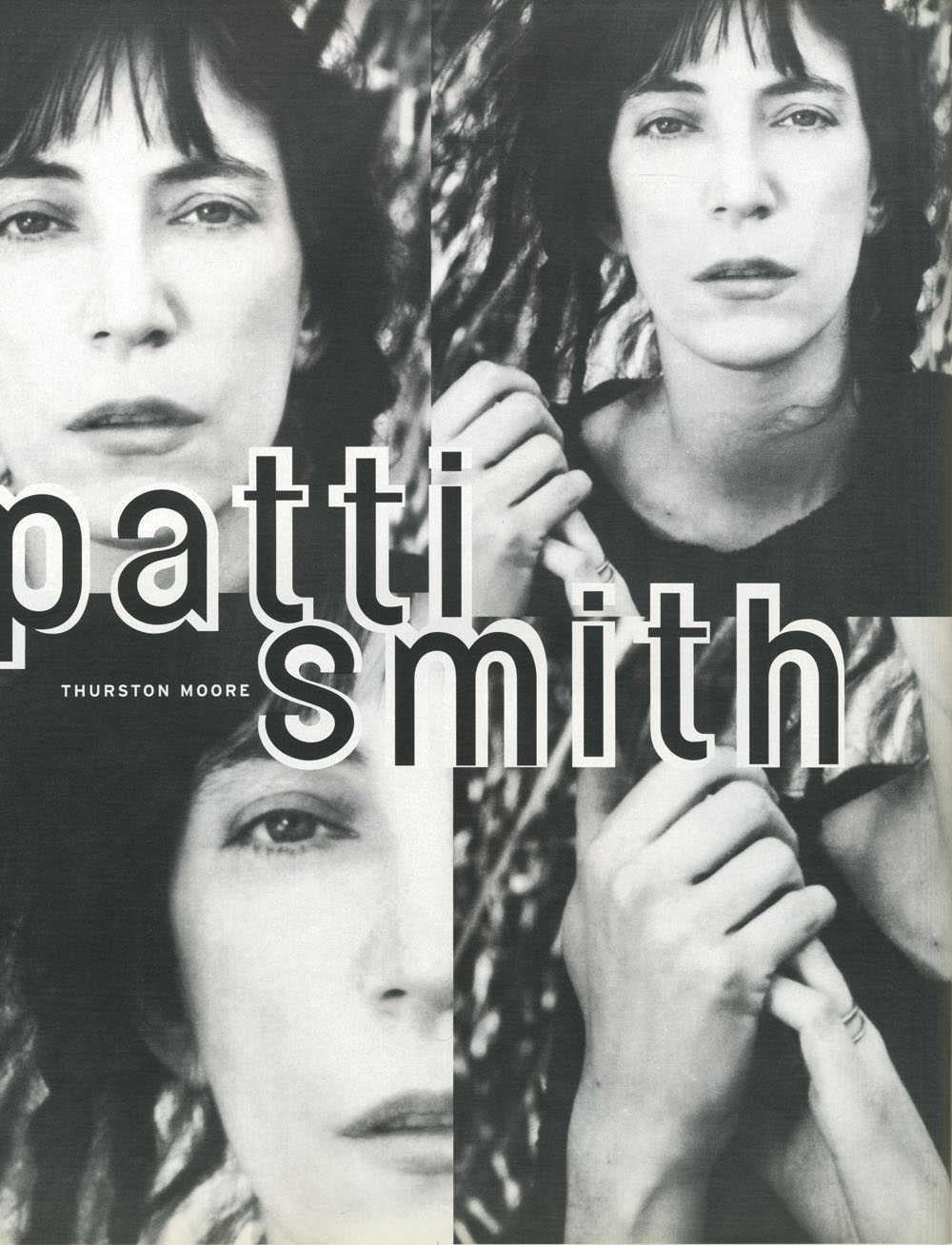 Patti smith dating history
