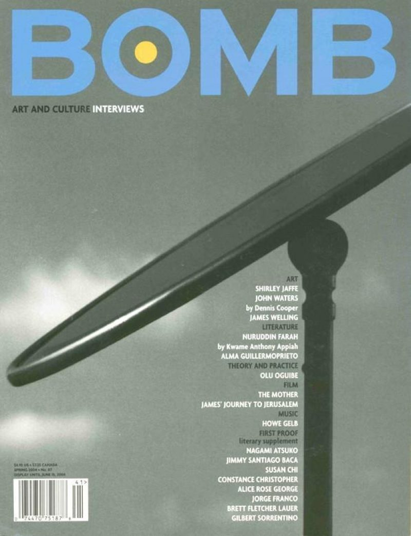 John Waters - BOMB Magazine
