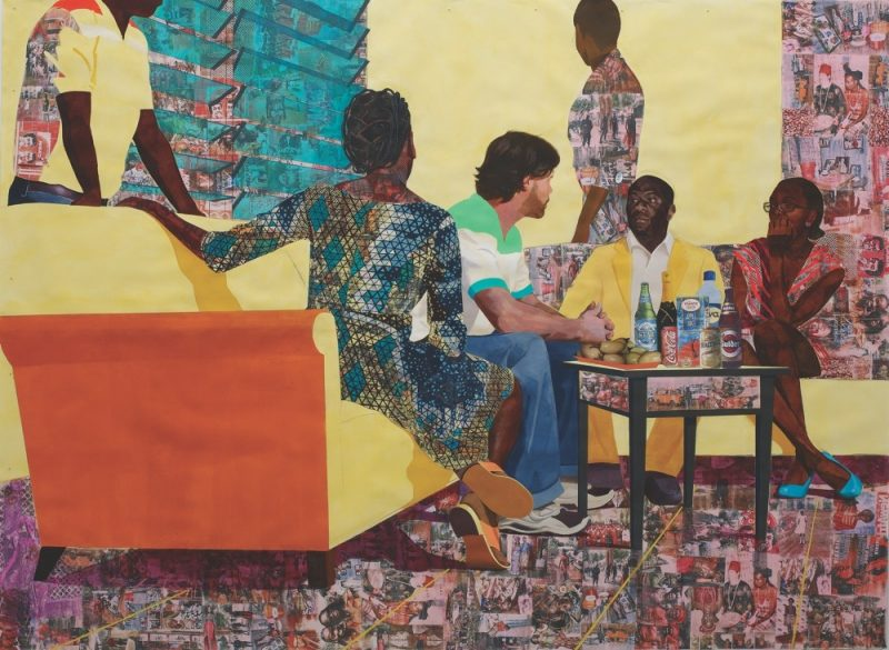 Image result for Njideka Akunyili-Crosby. art