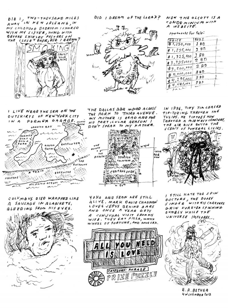 Three Comics - BOMB Magazine