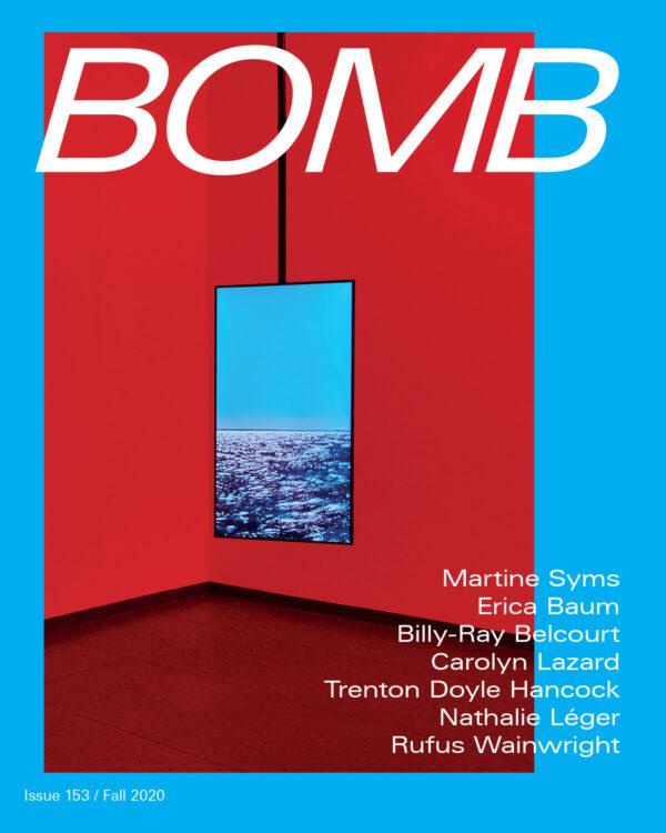 Bomb Magazine 153 Cover
